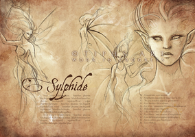 Generation Ecriture's Codex - Sylphid by Tiphs