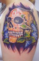 sugar skull by Ogra-the-Gob