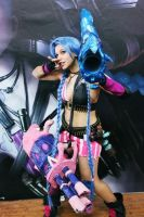 Jinx Cosplay LoL Costume by AxelTakahashiVIII