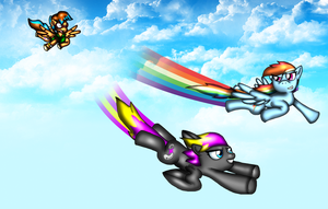 The Race of Awesomeness by spdy4
