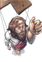 the jesus marionette by trezzy