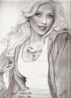 Christina Aguilera Glamour by jardc87