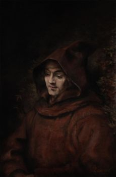 Titus as a Monk by Ragnarulf