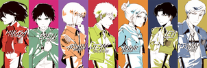SNK Bookmarks by tyan