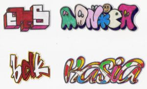 Stickers 95 by VHS-Guri
