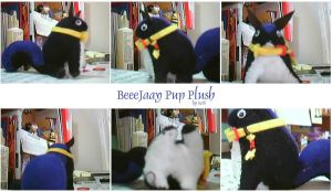 BeeeJaay Pup Plush by scrii