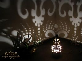 FORESTUAN gourd lamp night II by EvaLightArt