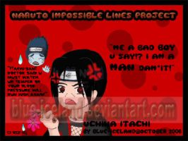 Impossible Lines 11_Itachi by blue-iceland