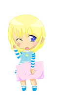 My Chibi anime girl by MaguiPinkie