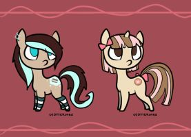 Pony Adoptables!~ -CLOSED- by LazyRaptor