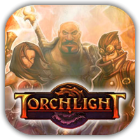 Torchlight Game Icon by Wolfangraul