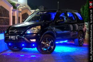 CR-V neon glow by aLDoDarK