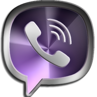 Viber icon by Meteormirage