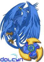 Dalcyn - the Halcyon bit-beast by lady-obsessed