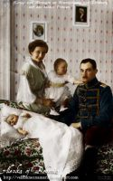 Victoria Louise with family by VelkokneznaMaria