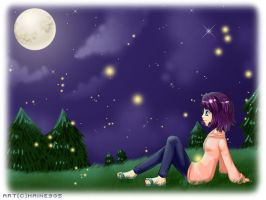 Watching the stars by haine905