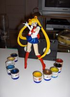 Sailor moon resin by izaioi