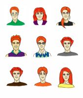 Big Happy Weasley Family, 2 by Rotae