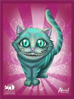 cheshire cat by Akriel