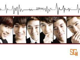 2PM heartbeat 1 by GalinaWaterGirl