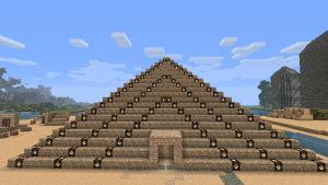 minecraft - Pyramid by CyberMiez