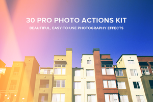 30 Pro Photo Actions Kit by frozencolor