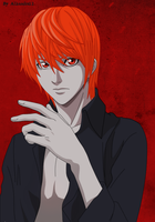 Light Yagami by Alhandra12
