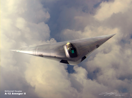 A-12 Avenger II by japphell