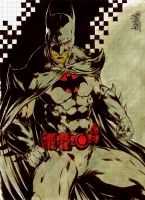 Batman Flashpoint by garnabiuth