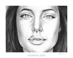 Angelina Jolie by gregchapin