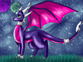 CynderTheDragoness Art trade by floravola