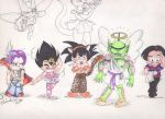 OLD My Chibi DBZ by KissTheThunder