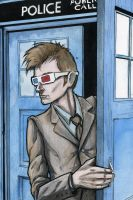The 10th Doctor by JarOfComics
