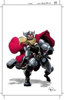 Thor Commission in Color by Roger-Robinson