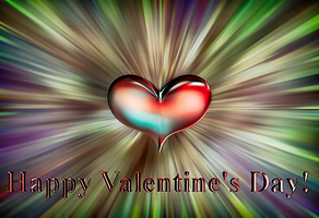 Valentine, It's All About Heart by kofferwortgraphics
