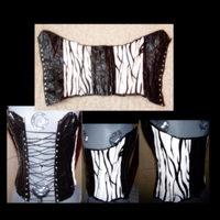 Duct Tape Corset 3 by Rogue-00