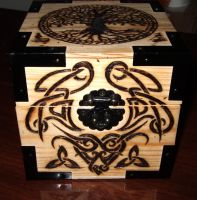 Box for my love: Front Detail by JakeGreen