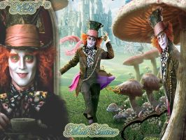Mad Hatter Johnny depp by Missykat90