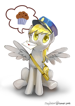 Derpy has delivered a letter to you. by GashibokA