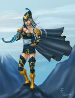 Mountaintop Ashe by Sirhai