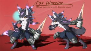 Fox warrior by dragoon86
