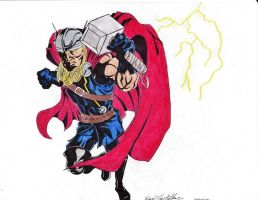 Thor by drayh1985