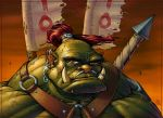 Orc Warrior Color by Lord-Dragon-Phoenix