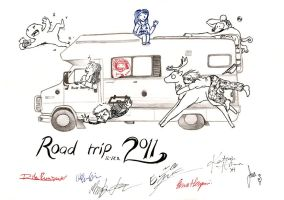 Road trip 2011 by Paperiapina