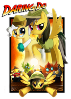 Daring Do and the Last Crusade by Jiayi