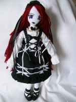 Classic Goth Lolita by dollmaker88
