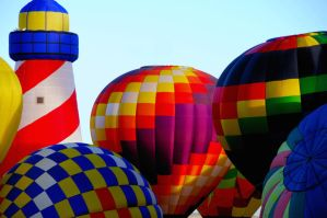 Hot Air Balloons by terryrunion
