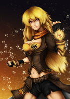 Yang from RWBY~ by Zlirkexct94