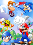 Rayman in Super Smash Bros. for Wii U and 3DS by MarkProductions