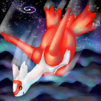 Out of World Flight: Latias by luga12345